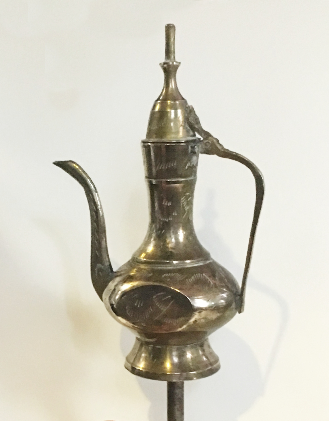 Arabian Coffee Pot Tiller Pin