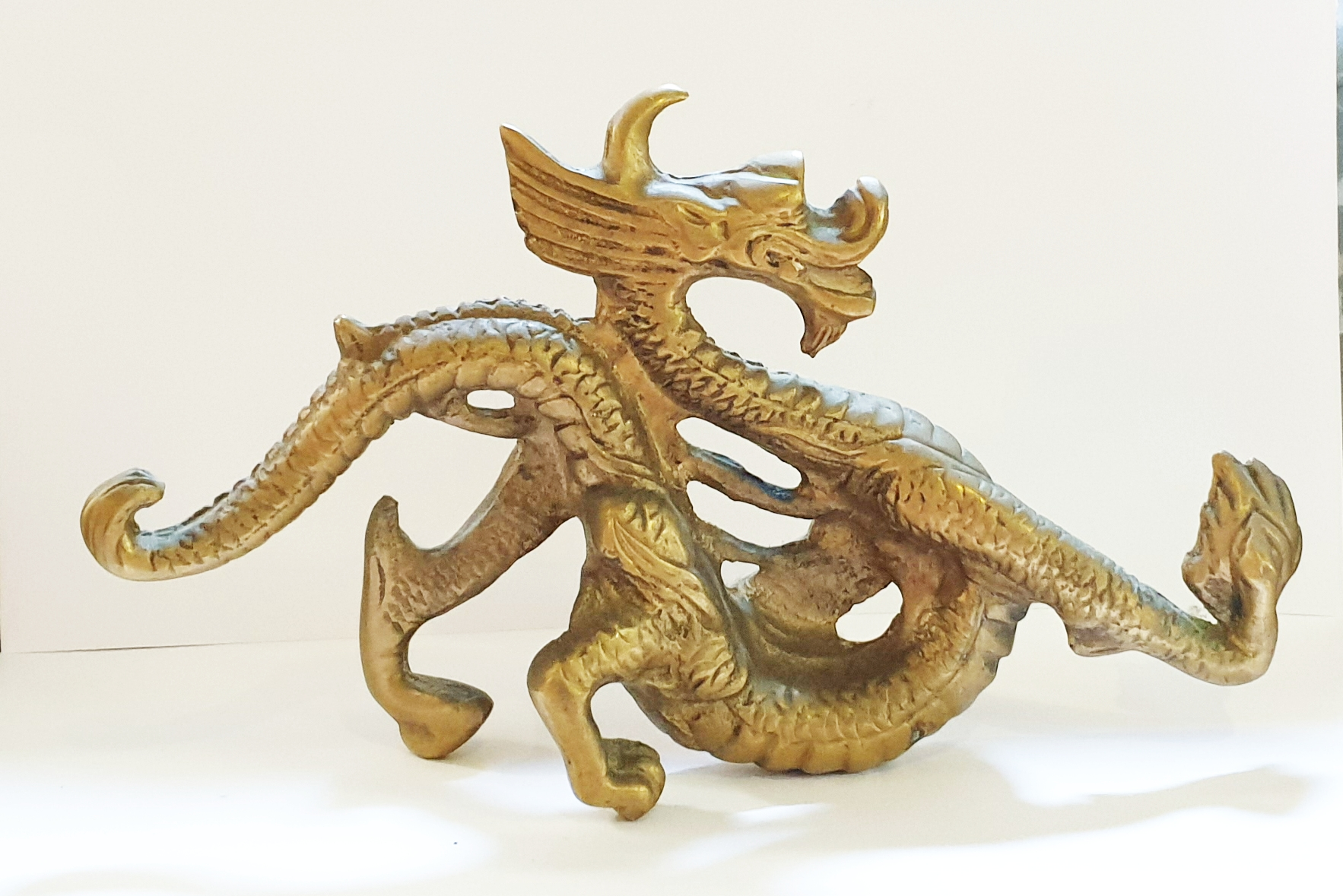 Chinese Dragon Tiller Pin
